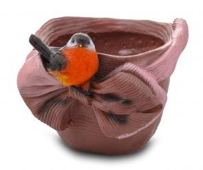 Птичка с бантом