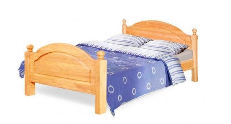 Кровать двуспальная «Лотос» Б-1090-05 (140) с/загл.