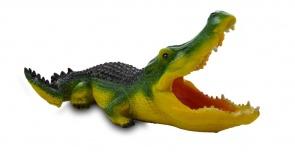 Садовая фигура из гипса Крокодил (средний)