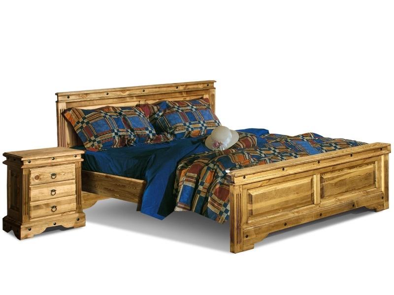 Кровать двуспальная «Викинг 01» (160)