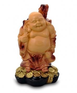 Гипсовая копилка для денег Будда с мешком (малый)