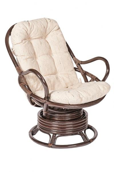 Кресло-качалка из ротанга «Флорес»