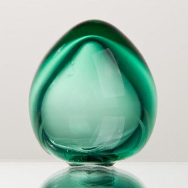 Сувенир яйцо зеленое