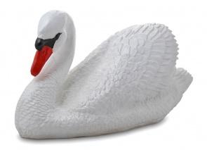 Гипсовая фигура для декора сада и дачи Лебедь (большой)