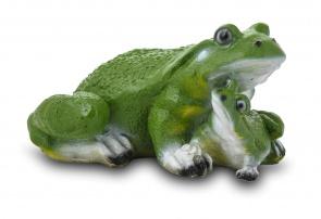 Гипсовая садовая фигурка Две Лягушки