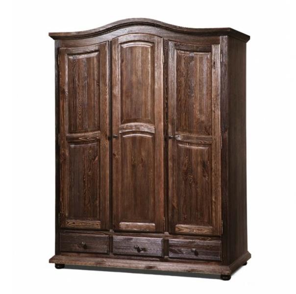 Шкаф 3-х дверный с ящиками «Лотос» БМ-2191
