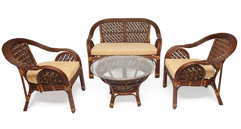 Комплект мебели Sheraton New из ротанга
