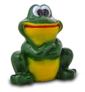 Гипсовая садовая фигурка Большая Лягушка (улыбка)