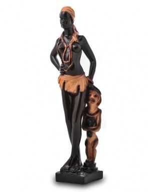 Садовая фигура-статуэтка Африканка