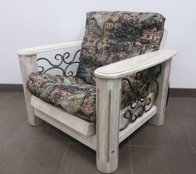 Кресло «Викинг 02» (браширование)