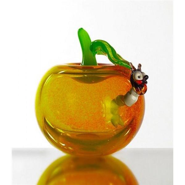 Сувенир декоративное изделие червивое яблоко