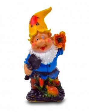 Гипсовая садовая фигурка Гном-дровосек