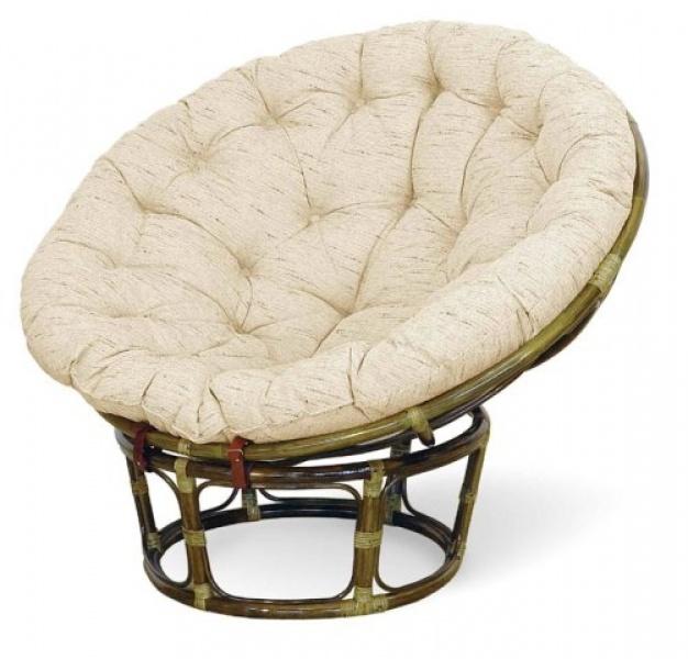 Кресло из ротанга Papasan 23/01 (олива)