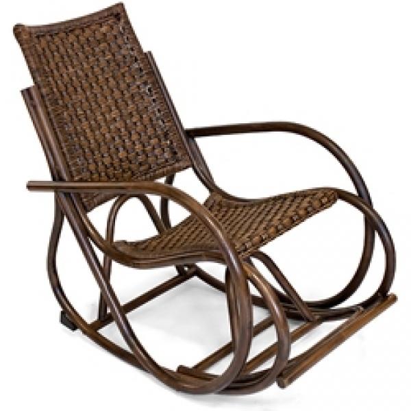 Кресло-качалка плетёное «Раджа»
