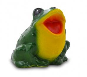 Гипсовая садовая фигурка Средняя Лягушка-квакушка
