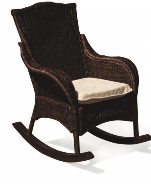 Кресло-качалка плетёное «Бали»
