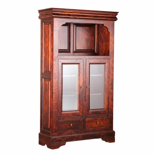 Шкаф с витриной «Луи Филипп» ОВ 28.03