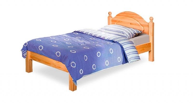 Кровать односпальная «Лотос» Б-1089-08 (90), с/загл.