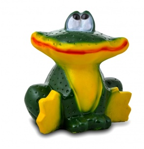 Гипсовая садовая фигурка Средняя Лягушка (улыбка)