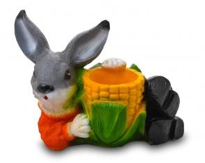 Заяц с кукурузой