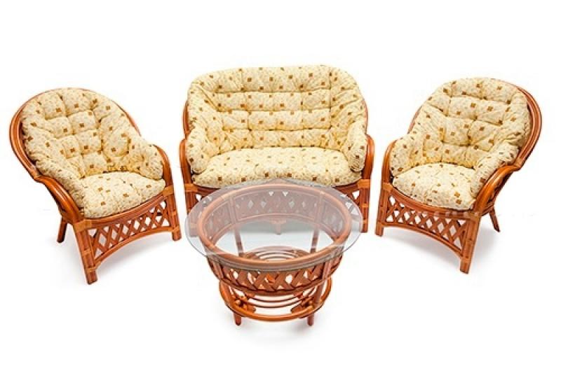 Комплект мебели «Черчилль»  (коньяк)