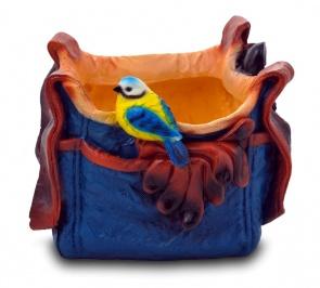 Синичка на сумке