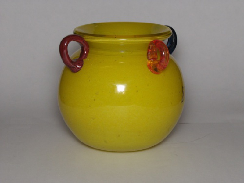 Сувенир ваза-горшочек