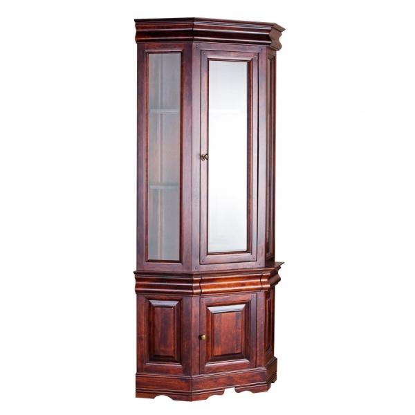 Шкаф с витриной «Луи Филипп» ОВ 28.04 (угловая)