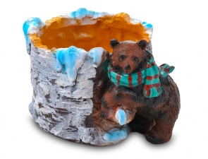 Медведь с шарфом