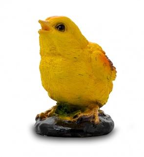Гипсовая фигура для декора сада и дачи Цыпленок