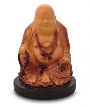 Гипсовая копилка для денег Будда с цепями (средний)